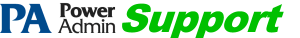 Power Admin Support Forum logo